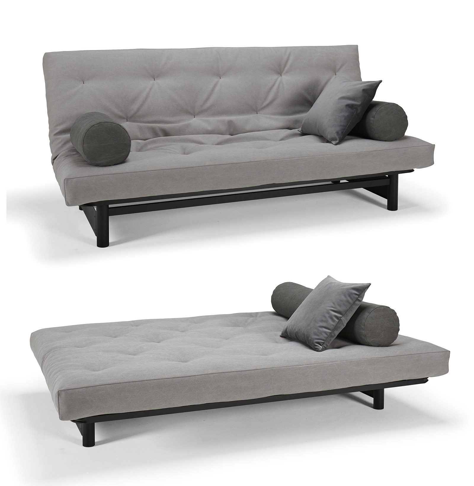 Futon design canap s lits facile fuji canap lit - Canape lit facile a ouvrir ...