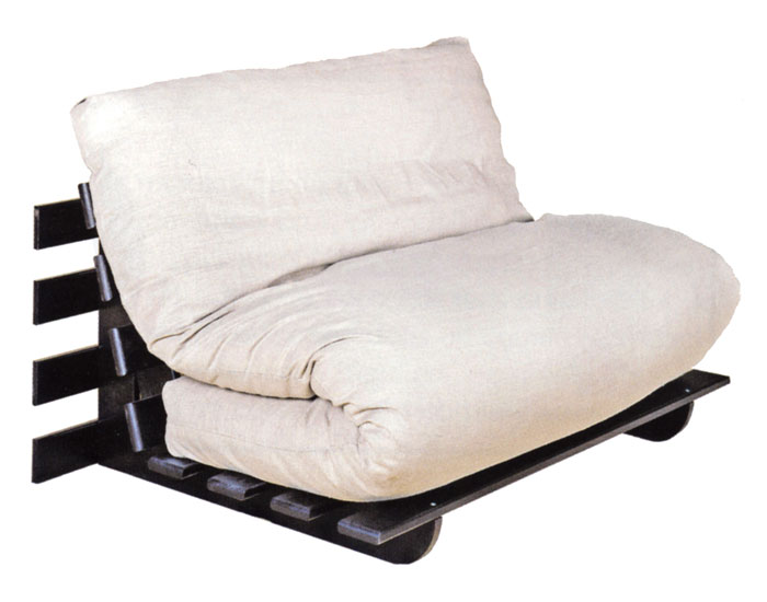 Canap lit convertible luna le confort du canap et la discr tion d 39 - Lit d appoint double ...