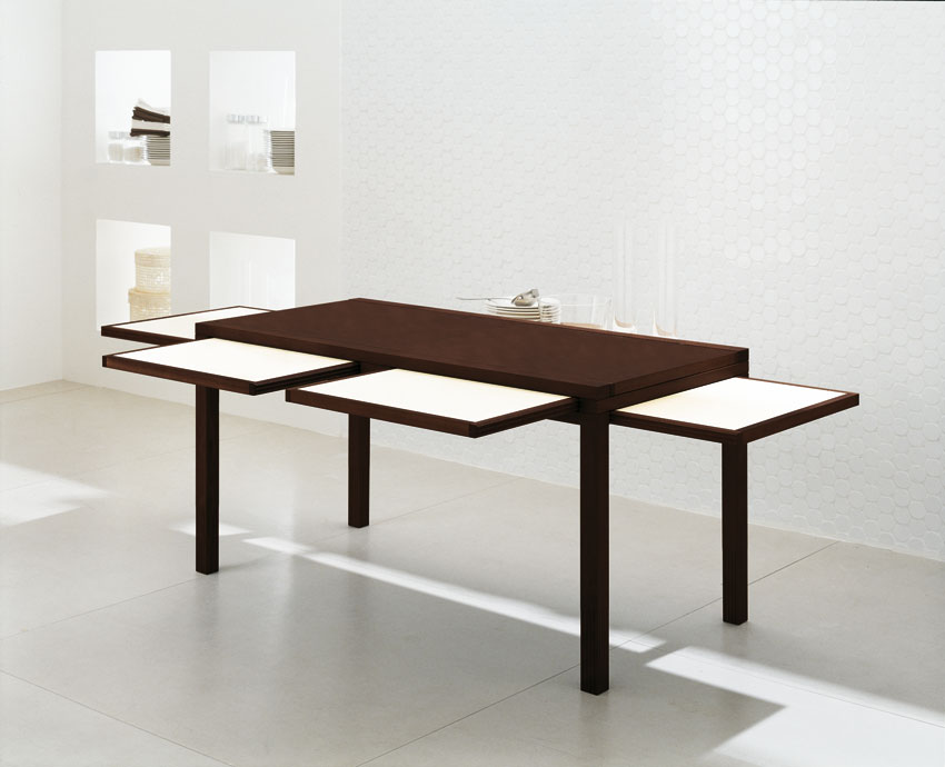 Table cuisine design haute for Table cuisine equipee