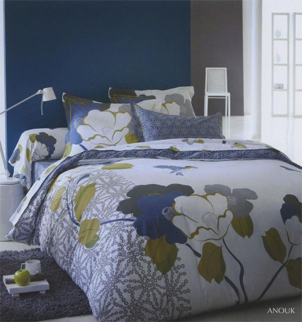 futon design literie h duvet imprim s anouk. Black Bedroom Furniture Sets. Home Design Ideas
