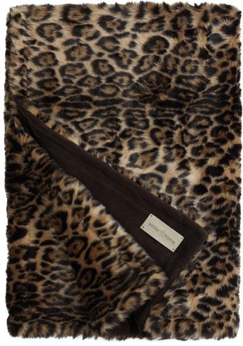 futon design fausses fourrures couvertures leopard plaid. Black Bedroom Furniture Sets. Home Design Ideas