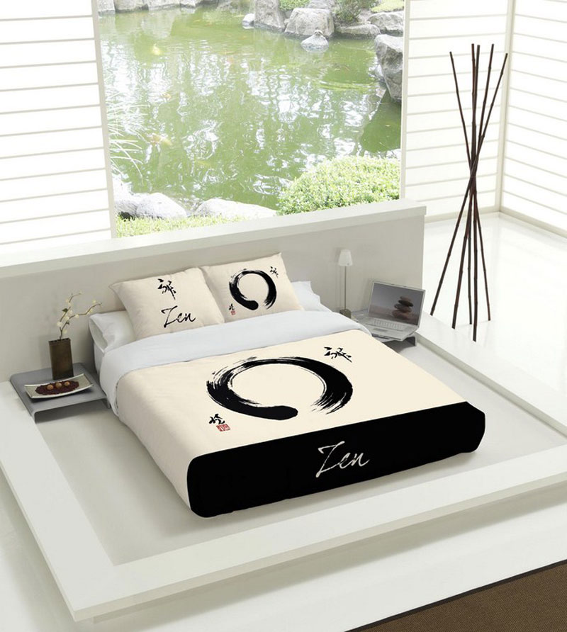 futon design literie couvre lits zen couvre lit. Black Bedroom Furniture Sets. Home Design Ideas