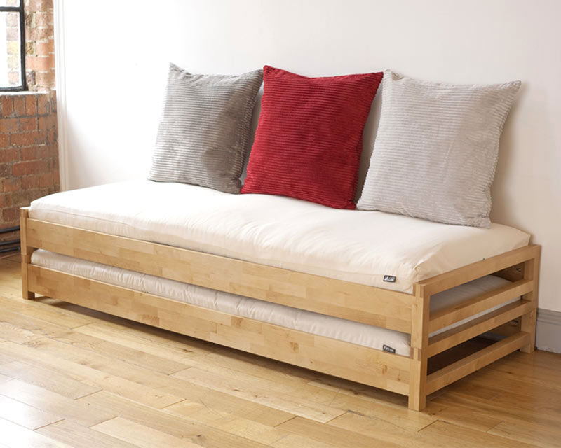Futon design canap s lits facile lit superposable - Como hacer un futon ...